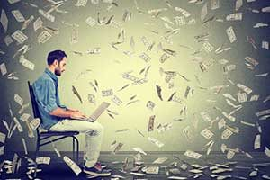 詐欺の手口①儲からないシステムを高額で販売する